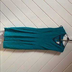 Stunning jade Cache pointe knit dress